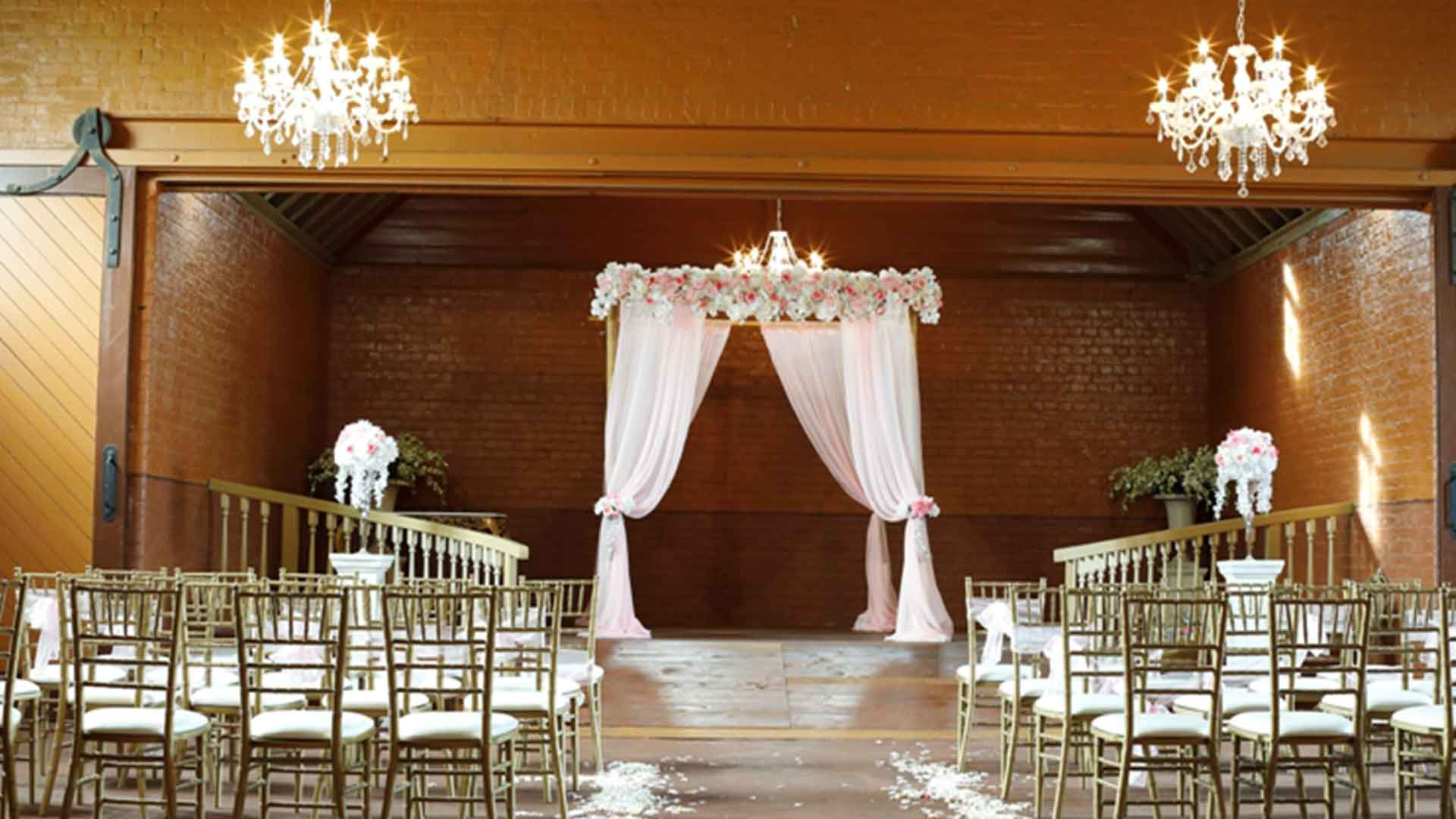 Aisle Wedding Decoration Hire