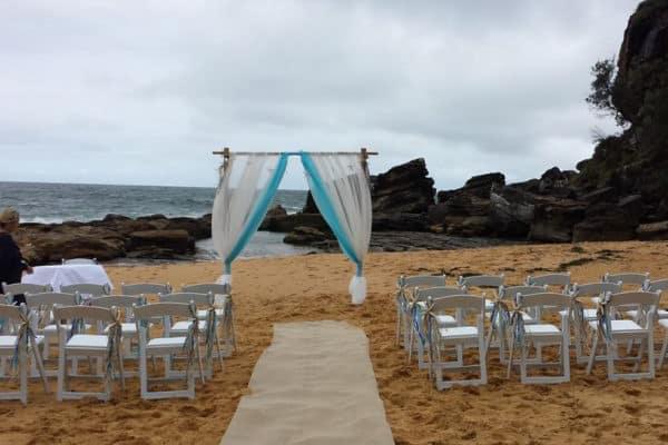 Beach Wedding Decoration Hire