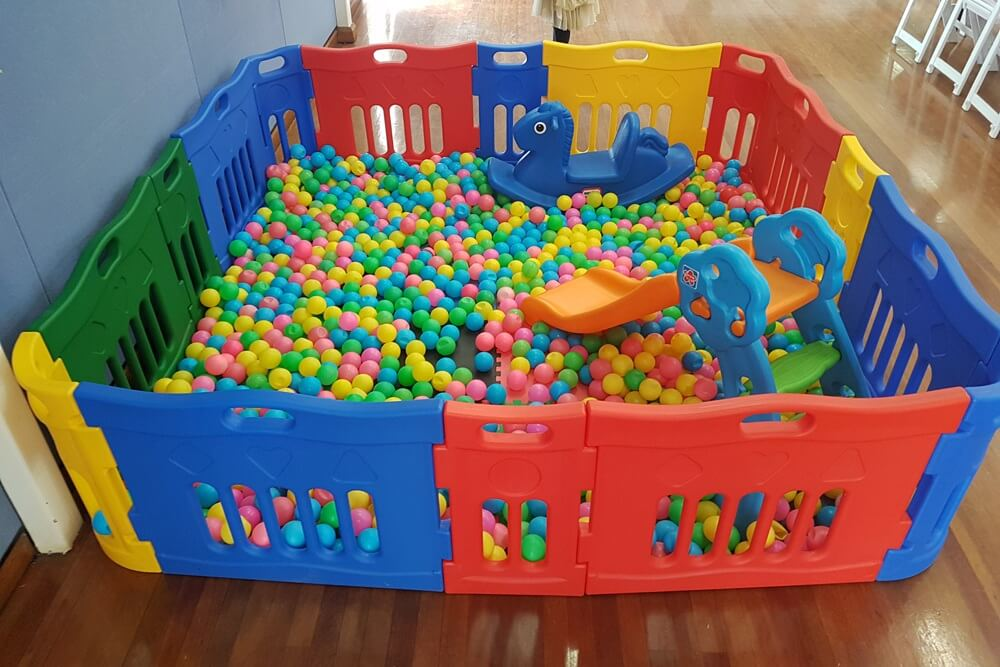Silver Ball pit hire