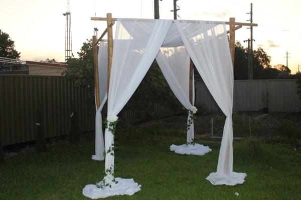 wedding canopy hire sydney