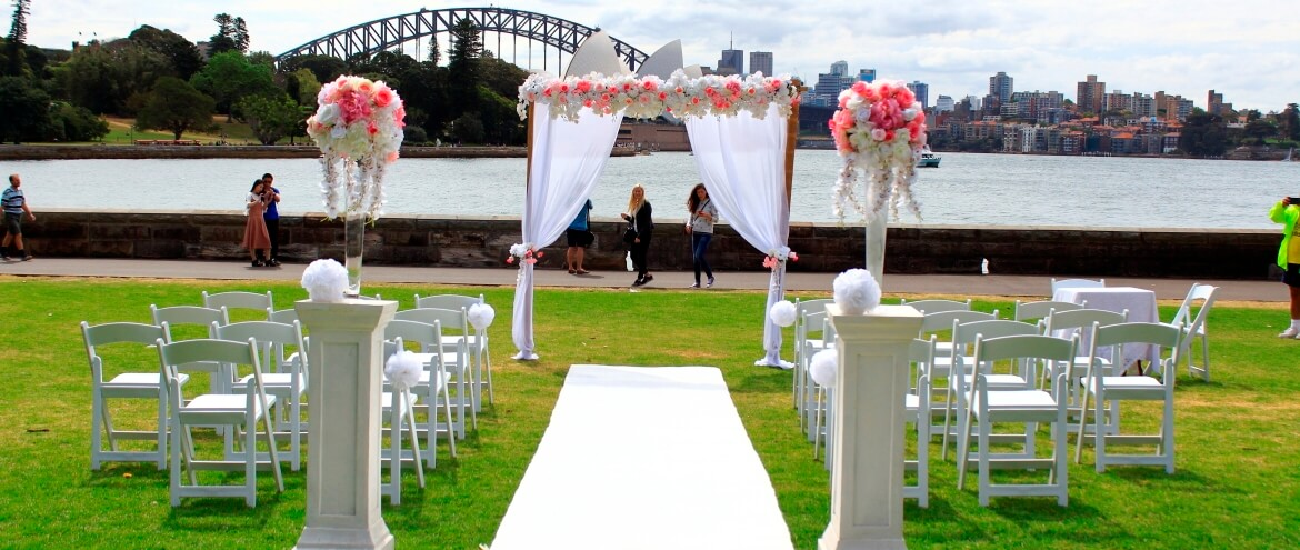 wedding arbour sydney