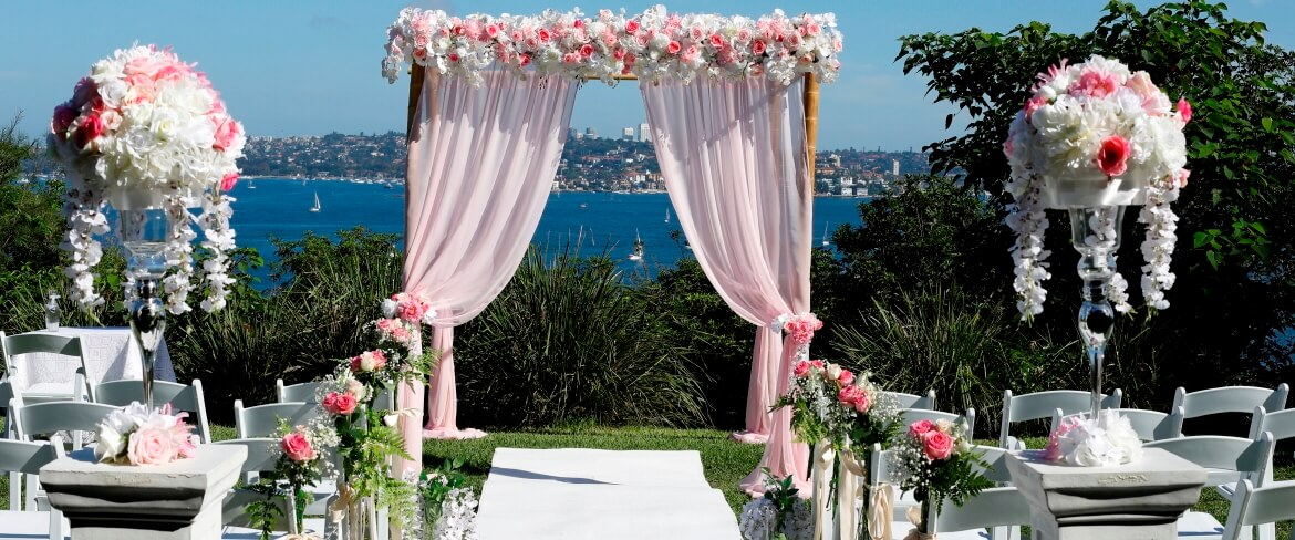 wedding decoration sydney