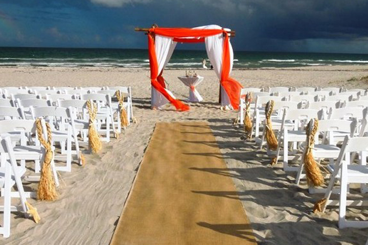Wedding aisle runner hire