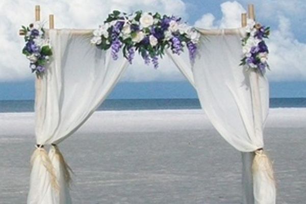 Wedding arbour hire