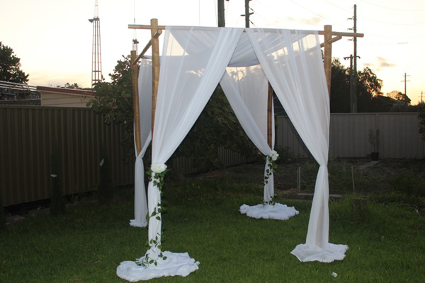 wedding canopy hire sydney