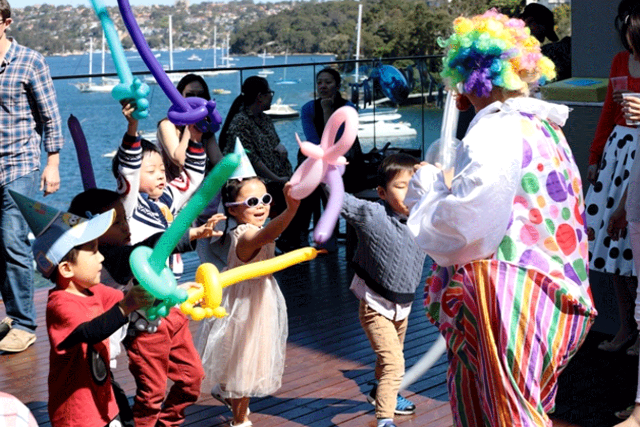 Kids-Entertainment-Sydney-Clown-Party