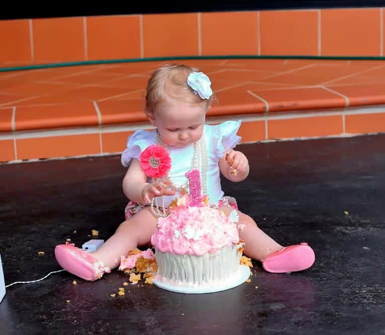 Cake smash photography Sydney