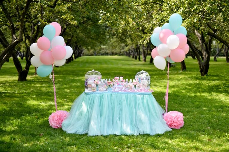 first birthday party photography
