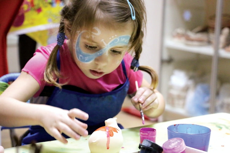 Girls Birthday Party Ideas - Art and Craft party