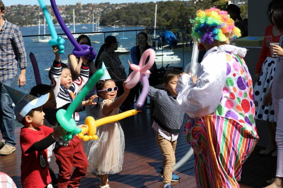 Kids Entertainment Sydney-Clown Party