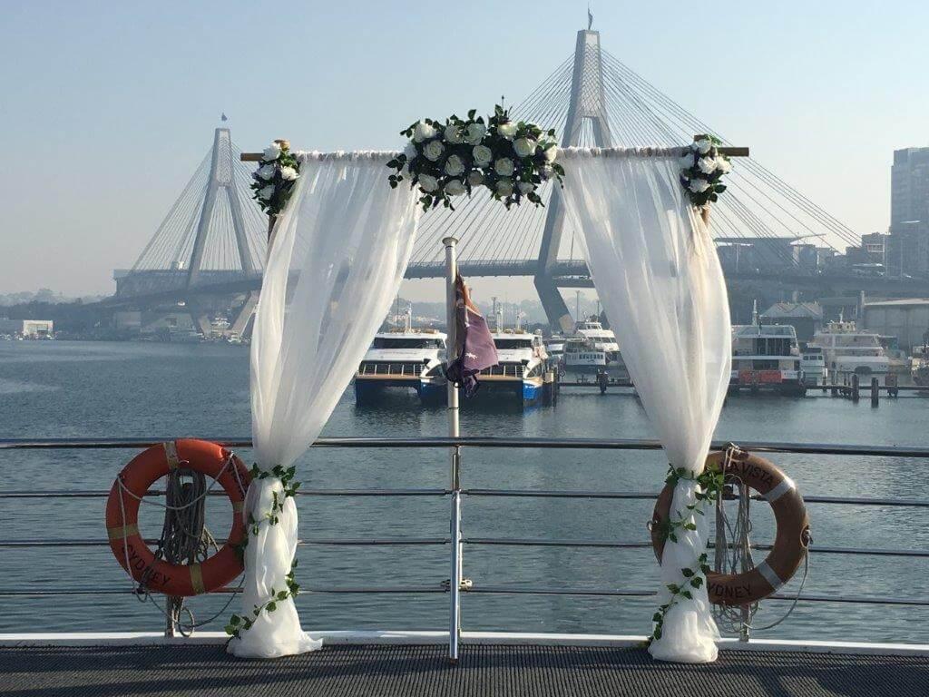 Wedding arch hire Sydney