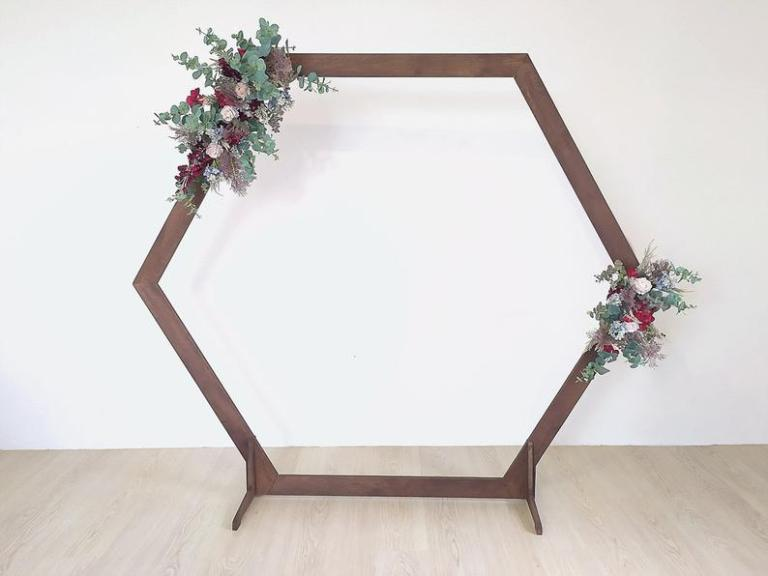 Wooden Arch hire